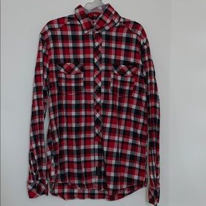 Sean John Tailored Flannel (Red)